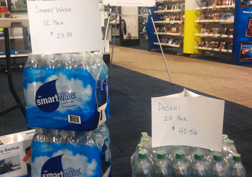Best Buy Water Price Gouging
